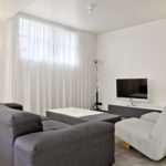 TV hoek met Loewe tv in Family Suite XL - Maastricht (5p.)